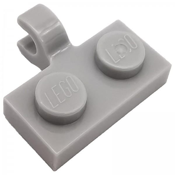 LEGO® Modifizierte Platte 1 x 2 light bluish grey 6028812