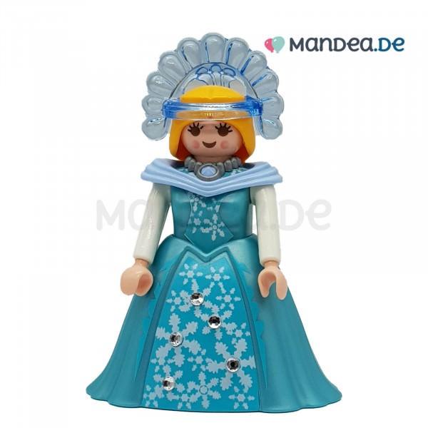 PLAYMOBIL® Frau mit langem blauen Kleid