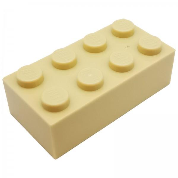 LEGO® Stein 2 x 4 tan 4114319