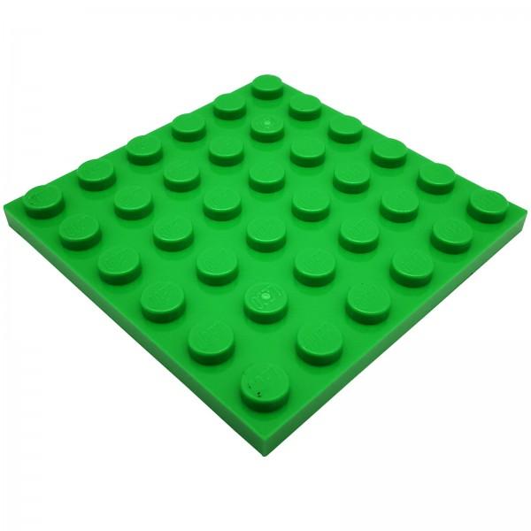 LEGO® Platte 6004650 6 x 6 Noppen 3958 farbe grün