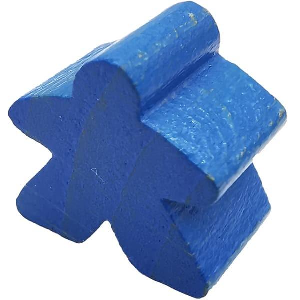 Carcassonne Meeple Figur blau