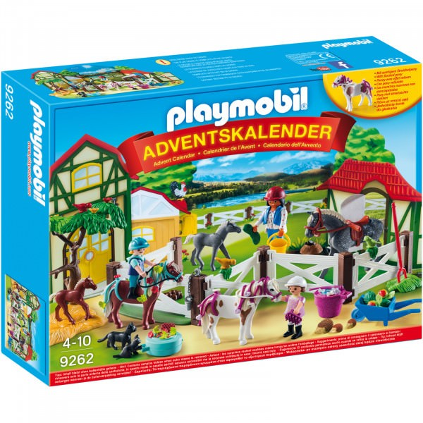 PLAYMOBIL Adventskalender - Reiterhof 9262