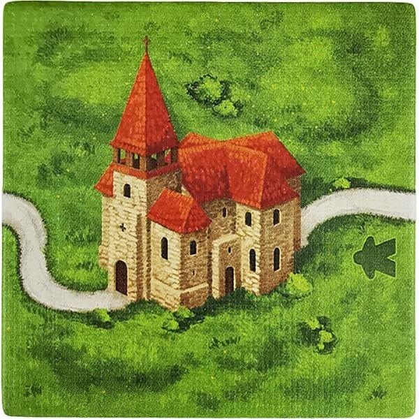 Carcassonne - Wirtshäuser und Kathedralen Plättchen ED