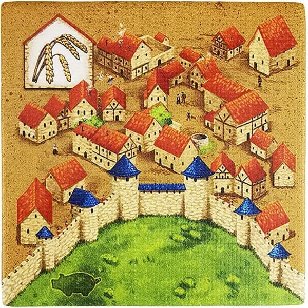 Carcassonne - Händler und Baumeister Plättchen HH