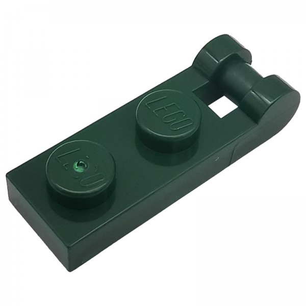 LEGO® Modifizierte Platte mit geschlossenem Ende 1 x 2 dunkelgrün 6130035