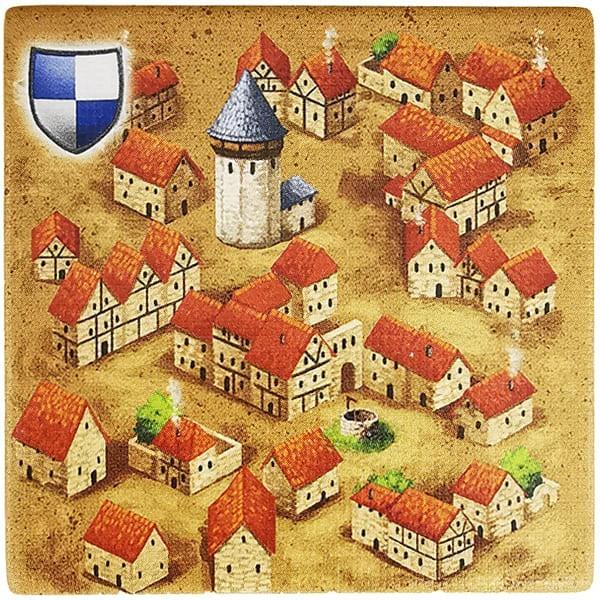 Carcassonne Plättchen C 1 / 1