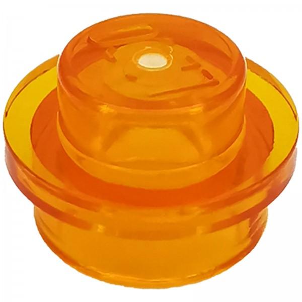 LEGO® Rundplatte 1 x 1 orange transparent 4222960