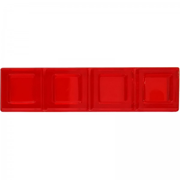 Blokus® Plättchen rot Variante 4