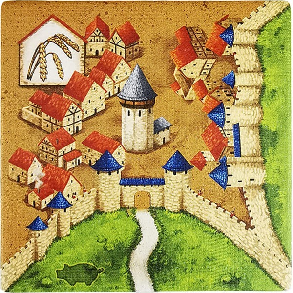 Carcassonne - Händler und Baumeister Plättchen HI