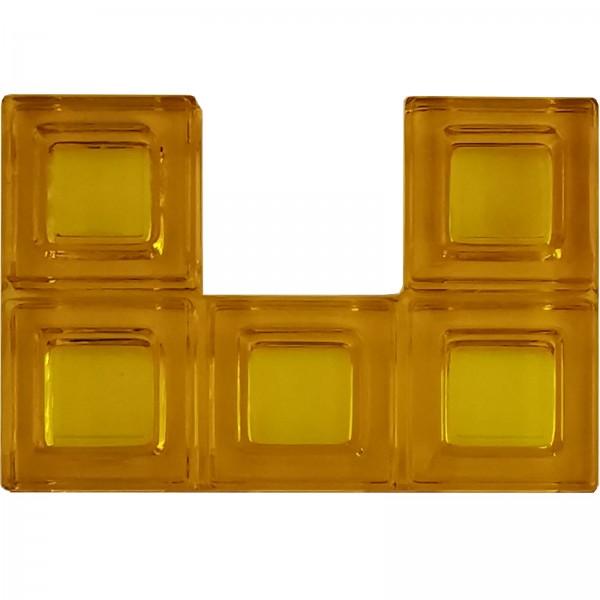 Blokus® Plättchen gelb Variante 15