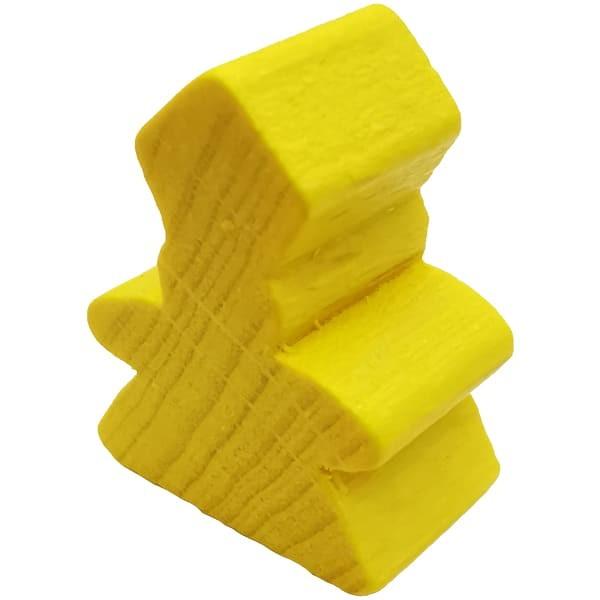 Carcassonne der Abt Figur gelb