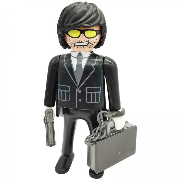 Playmobil Figures Serie 6 Agent k5458e