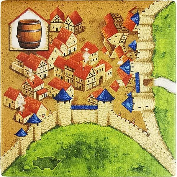 Carcassonne - Händler und Baumeister Plättchen HW