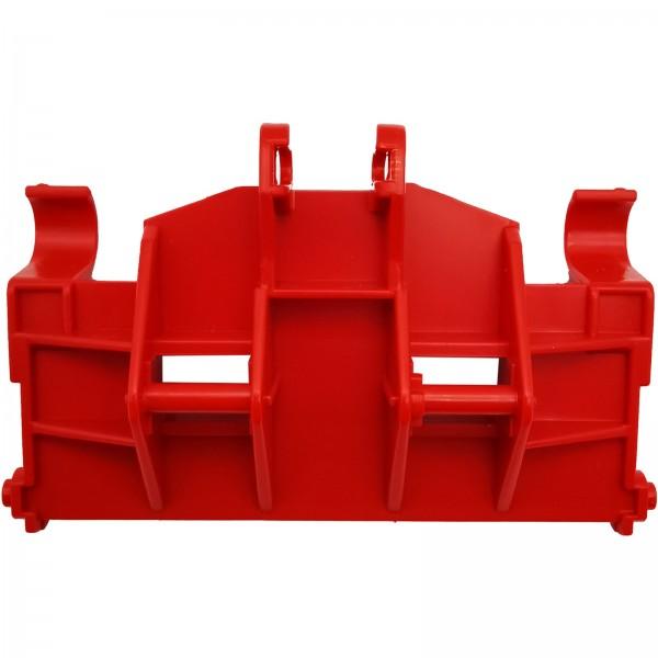 Bruder® 02191 Schaeffer Hoflader Bagger Anbauplatte