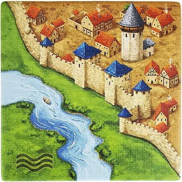 Carcassonne - Der Fluss Plättchen BB6F5