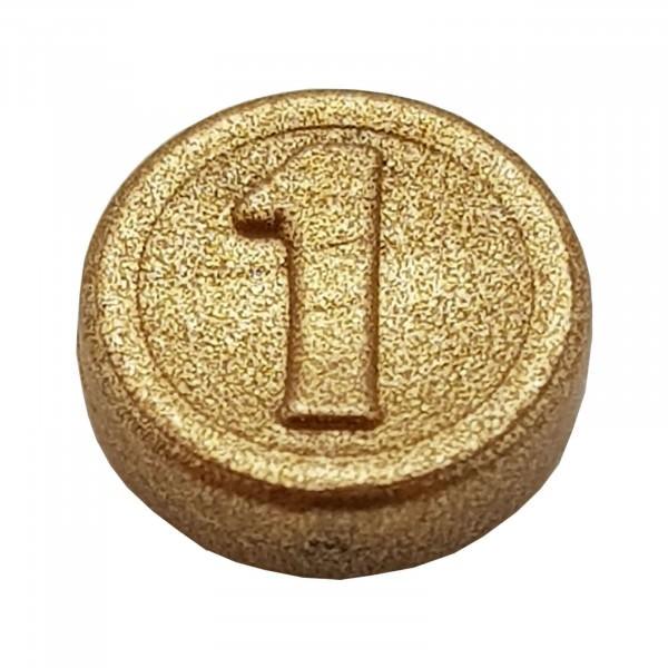 PLAYMOBIL® 1'er Goldmünze glänzend 30726542