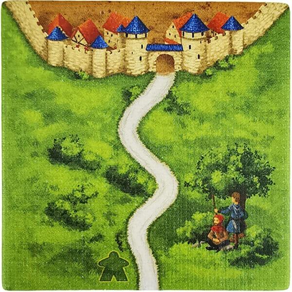 Carcassonne - Wirtshäuser und Kathedralen Plättchen EJ