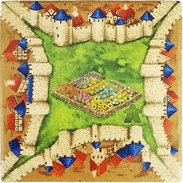Carcassonne - Wirtshäuser und Kathedralen Plättchen EH