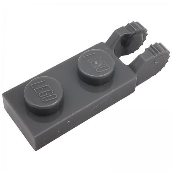 LEGO® Modifizierte Schanierplatte mit 2 Finger 1 x 2 dark bluish grey 4210884