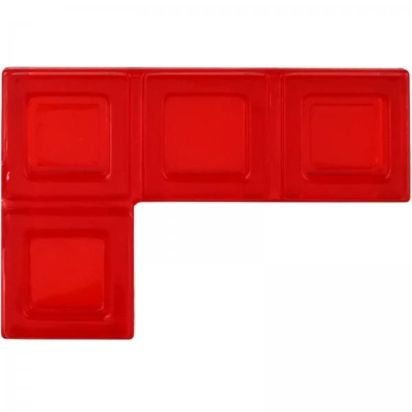 Blokus® Plättchen rot Variante 18