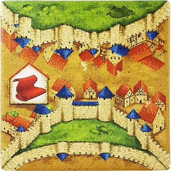 Carcassonne - Händler und Baumeister Plättchen HN