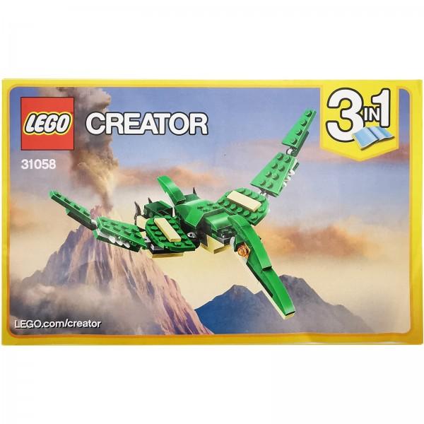 LEGO® 31058 Dinosaurier Bauanleitung 2 / 3