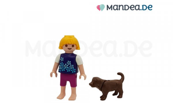 PLAYMOBIL® Figur Kind mit Hund