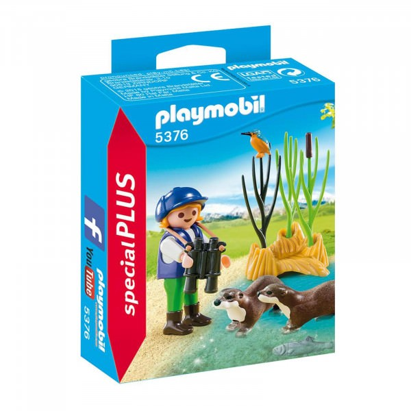 PLAYMOBIL® special PLUS 5376 Otterforscherin