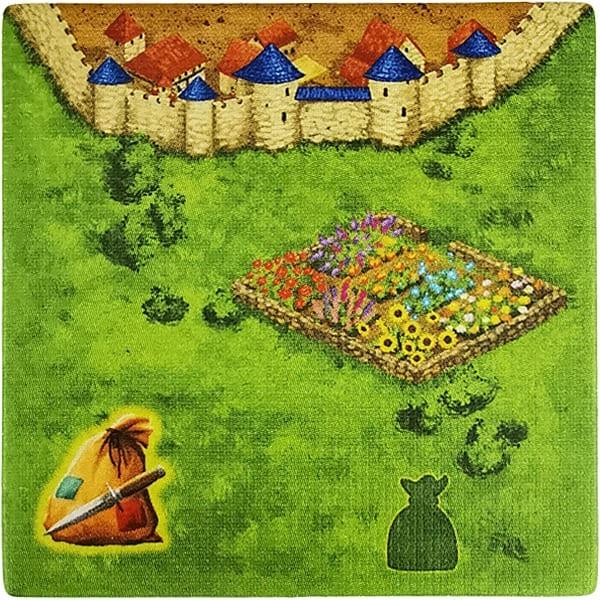 Carcassonne - Die Räuber RaubD mit Garten