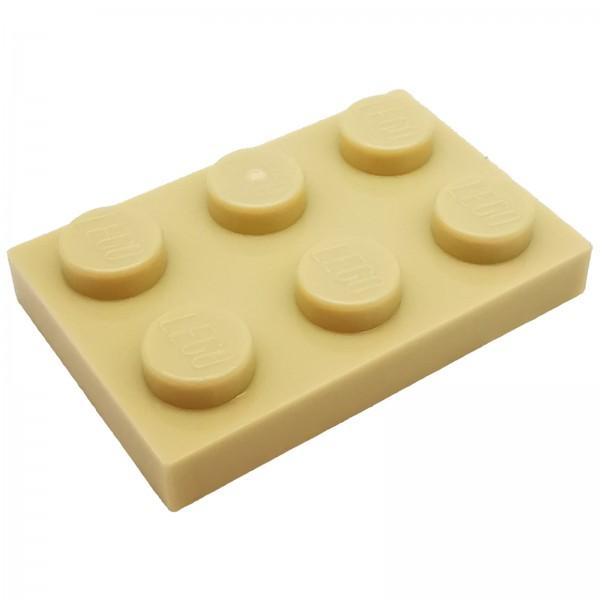 LEGO® Platte 2 x 3 beige 4118790