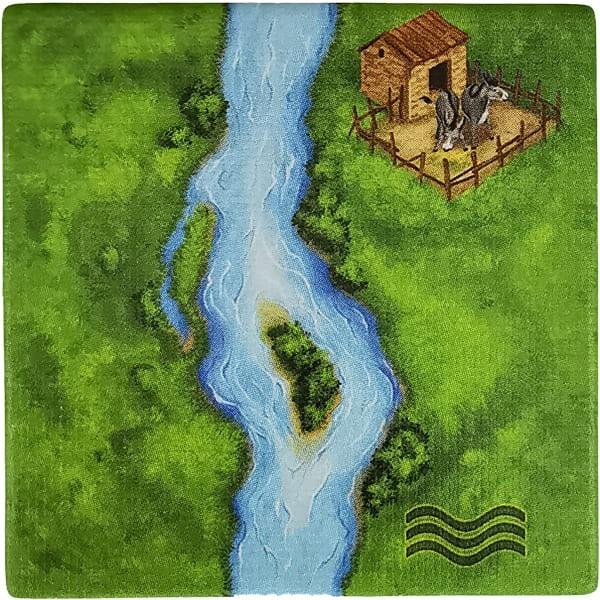 Carcassonne - Der Fluss Plättchen BB6F4
