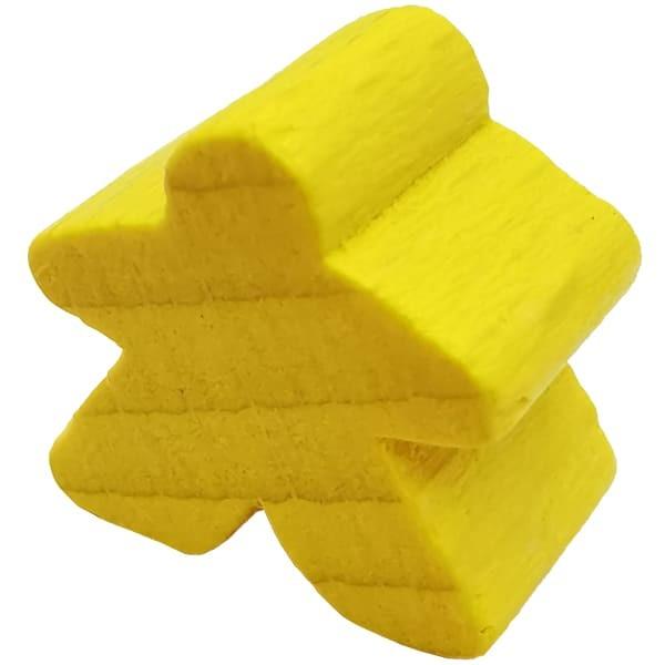 Carcassonne Meeple Figur gelb