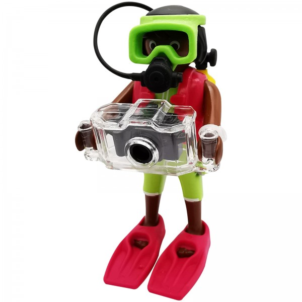 Playmobil Figures Serie 18 Taucherin k70370c