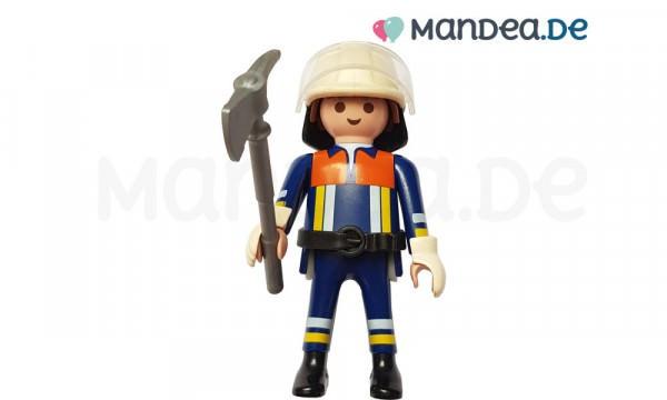 PLAYMOBIL® Feuerwehr Figur mit Axt und Helm