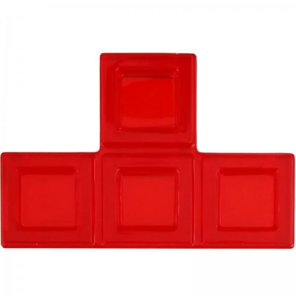 Blokus® Plättchen rot Variante 10