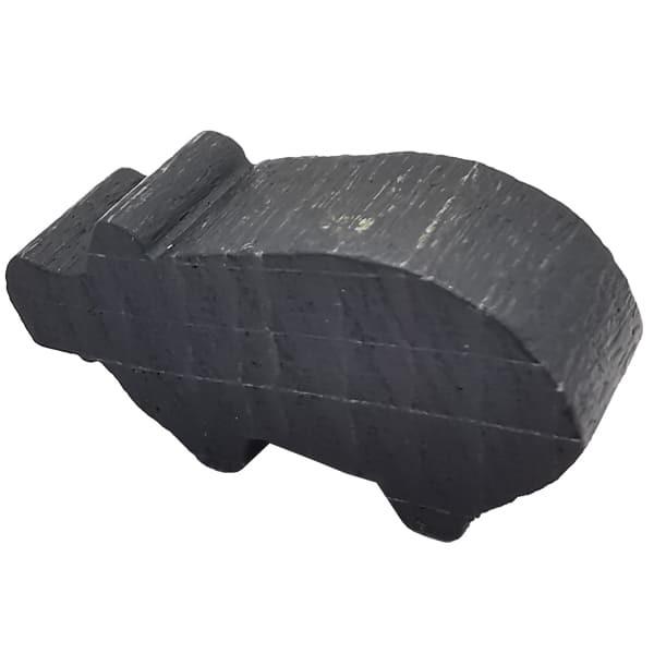 Carcassonne - Schwein Figur schwarz