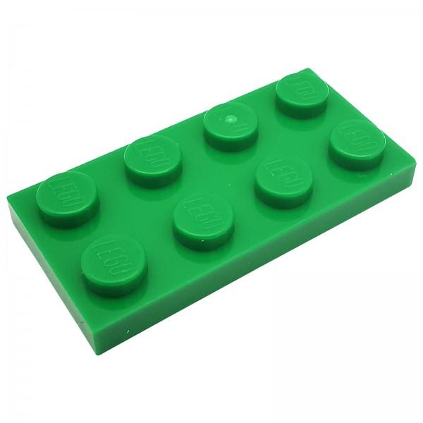 LEGO® Platte 2 x 4 grün 302028