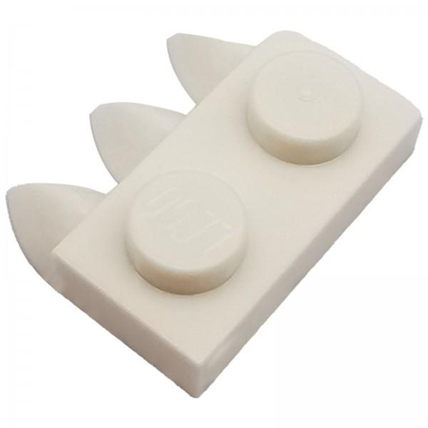 LEGO® Zahn 1 x 2 weiss 6046381