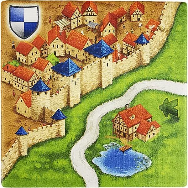 Carcassonne - Wirtshäuser und Kathedralen Plättchen EL