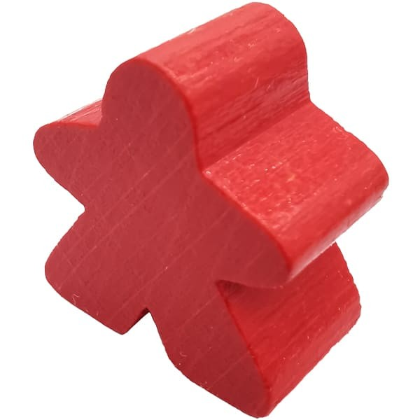 Carcassonne - Große Meeple Figur in rot