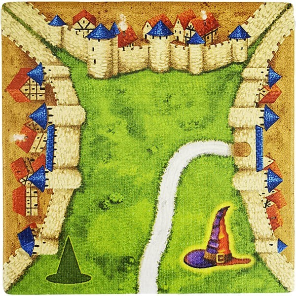 Carcassonne - Magier und Hexe MaHeB