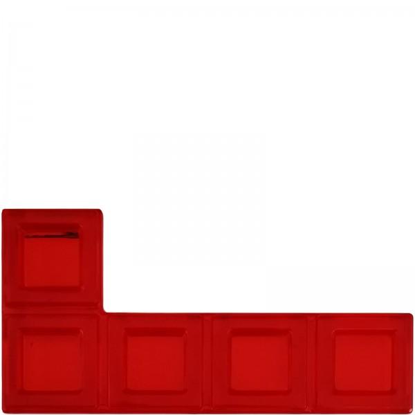 Blokus® Plättchen rot Variante 20