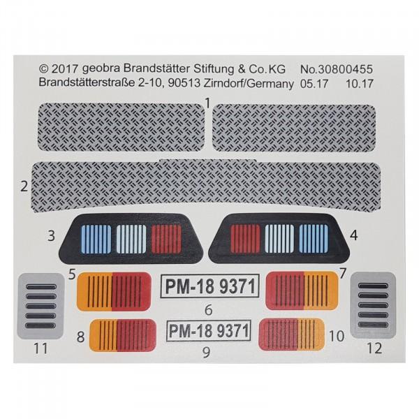 PLAYMOBIL® Geldtransporter Aufkleber 30800455