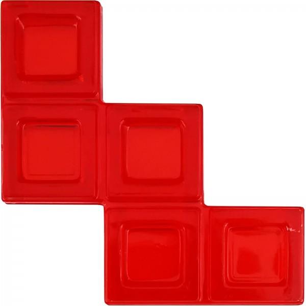 Blokus® Plättchen rot Variante 21