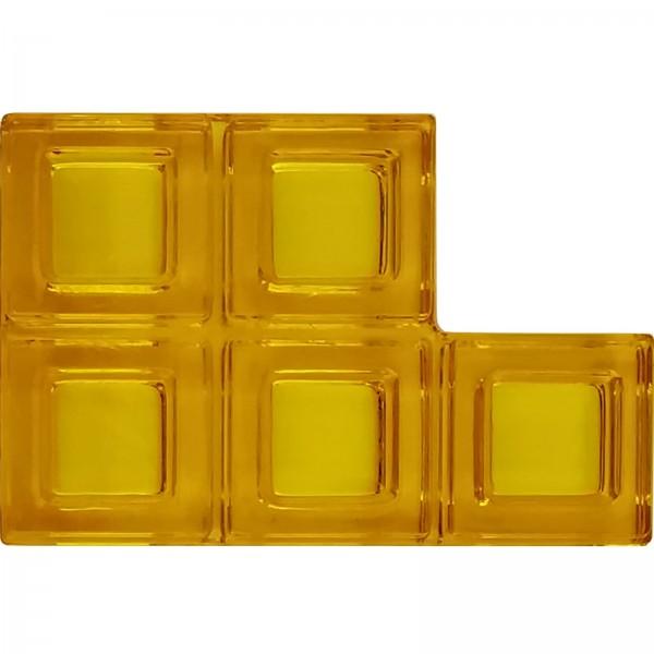 Blokus® Plättchen gelb Variante 8