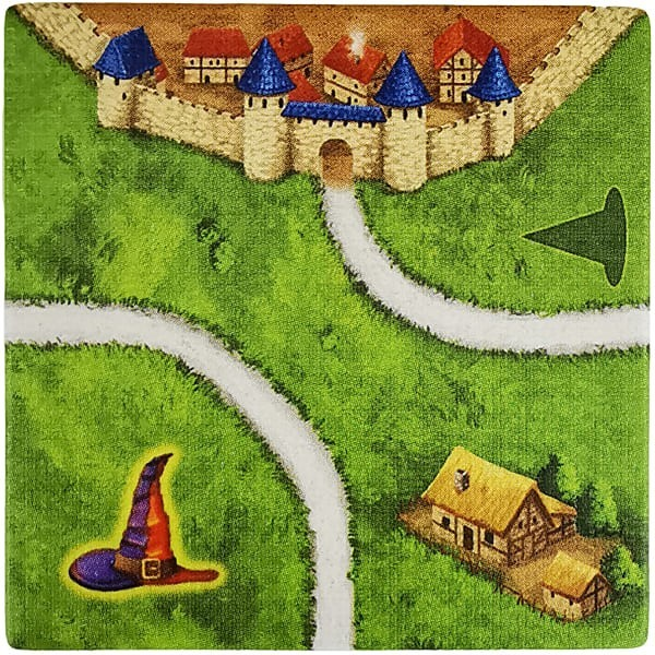 Carcassonne - Magier und Hexe MaHeH