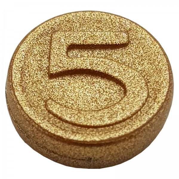 PLAYMOBIL® 5'er Goldmünze glänzend 30726542