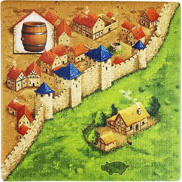 Carcassonne - Händler und Baumeister Plättchen HT