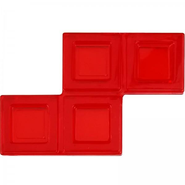 Blokus® Plättchen rot Variante 9