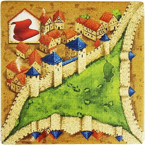 Carcassonne - Händler und Baumeister Plättchen HM